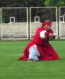 Grandmaster Kim in Sayokan Bravery Games, 2007 Turkiye